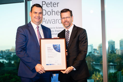IMPACT Centre wins Peter Doherty STEM Education Partnership Award