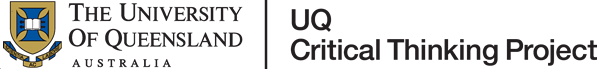 UQ Critical Thinking Profect logo